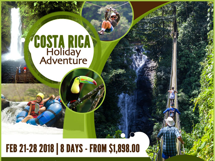 Costa Rica Adventure intro image